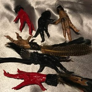 Dressed Chicken Foot Charms